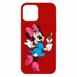 Чохол для iPhone 12 Pro Max Minnie Mouse and Ice Cream