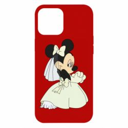 Чехол для iPhone 12 Pro Max Minnie Mouse Bride