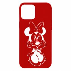 Чехол для iPhone 12 Pro Max Minnie Mouse Face