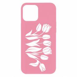 Чохол для iPhone 12 Pro Max Monochrome tulips