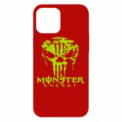 Чохол для iPhone 12 Pro Max Monster Energy Череп