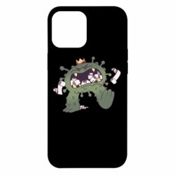 Чохол для iPhone 12 Pro Max Monster with a crown and paper