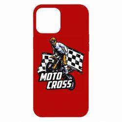 Чехол для iPhone 12 Pro Max Motocross