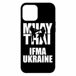 Чехол для iPhone 12 Pro Max Muay Thai IFMA Ukraine