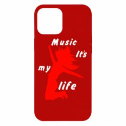 Чохол для iPhone 12 Pro Max Music it's my life