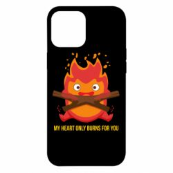 Чохол для iPhone 12 Pro Max MY HEART ONLY  BURNS FOR YOU