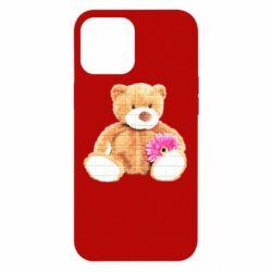 Чохол для iPhone 12 Pro Max М'який ведмедик