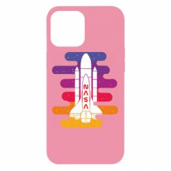 Чохол для iPhone 12 Pro Max NASA rocket in space