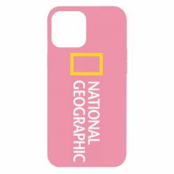 Чехол для iPhone 12 Pro Max National Geographic logo