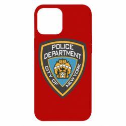 Чехол для iPhone 12 Pro Max New York Police Department