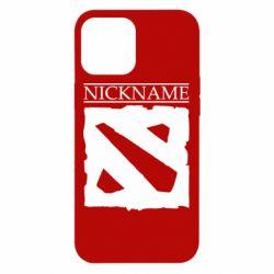 Чехол для iPhone 12 Pro Max Nickname Dota