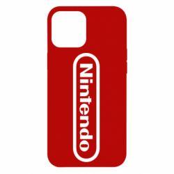 Чохол для iPhone 12 Pro Max Nintendo logo