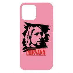 Чехол для iPhone 12 Pro Max Nirvana Kurt Cobian