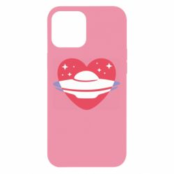 Чехол для iPhone 12 Pro Max NLO and heart
