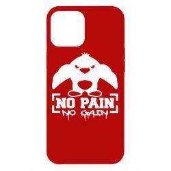Чехол для iPhone 12 Pro Max No pain no gain пингвин