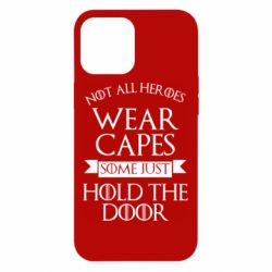 Чехол для iPhone 12 Pro Max Not all heroes wear capes