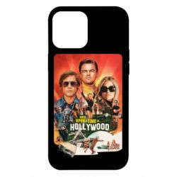 Чехол для iPhone 12 Pro Max Once in Hollywood poster art