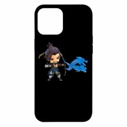 Чехол для iPhone 12 Pro Max Overwatch Hanzo Chibi