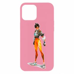 Чехол для iPhone 12 Pro Max Overwatch Tracer Character