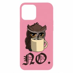 Чехол для iPhone 12 Pro Max Owl and coffee