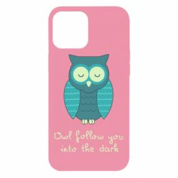 Чехол для iPhone 12 Pro Max Owl follow you into the dark