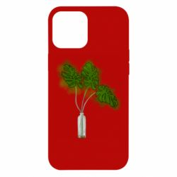 Чехол для iPhone 12 Pro Max Palm leaves in a bottle