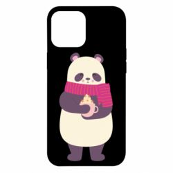 Чехол для iPhone 12 Pro Max Panda and Cappuccino