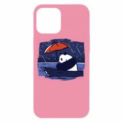 Чехол для iPhone 12 Pro Max Panda and rain