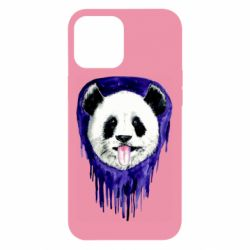 Чехол для iPhone 12 Pro Max Panda on a watercolor stain