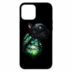 Чохол для iPhone 12 Pro Max Panther and Forest