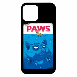 Чехол для iPhone 12 Pro Max Paws and cat
