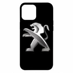 Чохол для iPhone 12 Pro Max Peugeot Logo