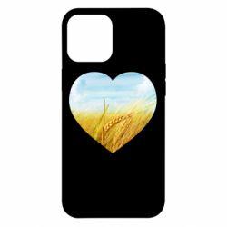 Чохол для iPhone 12 Pro Max Пейзаж України в серце
