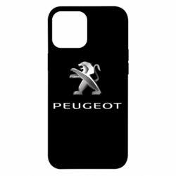 Чохол для iPhone 12 Pro Max Пежо