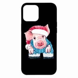 Чохол для iPhone 12 Pro Max Pig in a hat