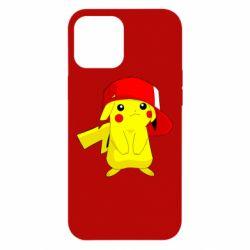 Чехол для iPhone 12 Pro Max Pikachu in a cap