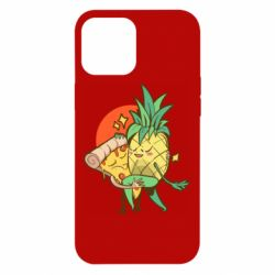 Чехол для iPhone 12 Pro Max Pineapple and Pizza