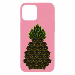 Чехол для iPhone 12 Pro Max Pineapple cat