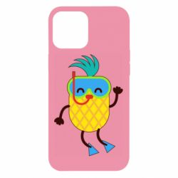 Чохол для iPhone 12 Pro Max Pineapple in flippers