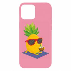 Чехол для iPhone 12 Pro Max Pineapple with coconut