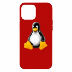 Чохол для iPhone 12 Pro Max Пингвин Linux