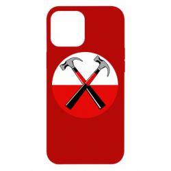 Чохол для iPhone 12 Pro Max Pink Floyd Main Logo