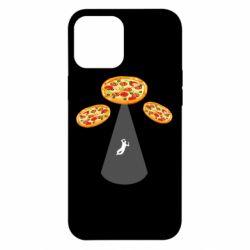 Чохол для iPhone 12 Pro Max Pizza UFO