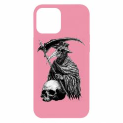 Чехол для iPhone 12 Pro Max Plague Doctor graphic arts