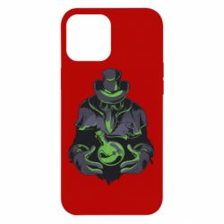 Чехол для iPhone 12 Pro Max Plague Doctor
