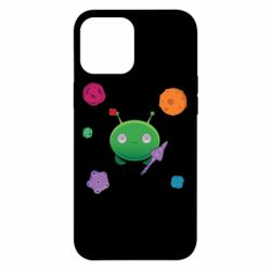 Чехол для iPhone 12 Pro Max Planets and Alien