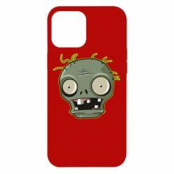 Чохол для iPhone 12 Pro Max Plants vs zombie head