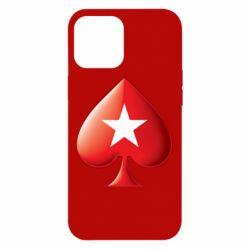 Чохол для iPhone 12 Pro Max Poker Stars 3D Logo