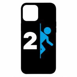 Чехол для iPhone 12 Pro Max Portal 2 logo