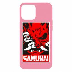 Чохол для iPhone 12 Pro Max Poster samurai Cyberpunk